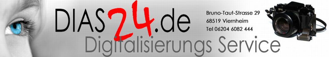 Dias24.de – Ihr Dia Scan Service!